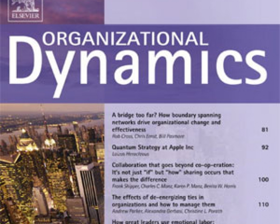 A bridge too far? How boundary spanning networks  drive organizational change and effectiveness